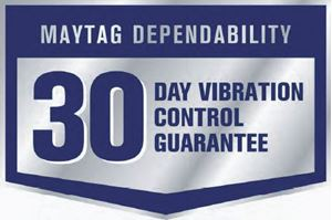 Picture of WPMA764 Maytag 30 Day Vibration Control Guarantee Decal Eng